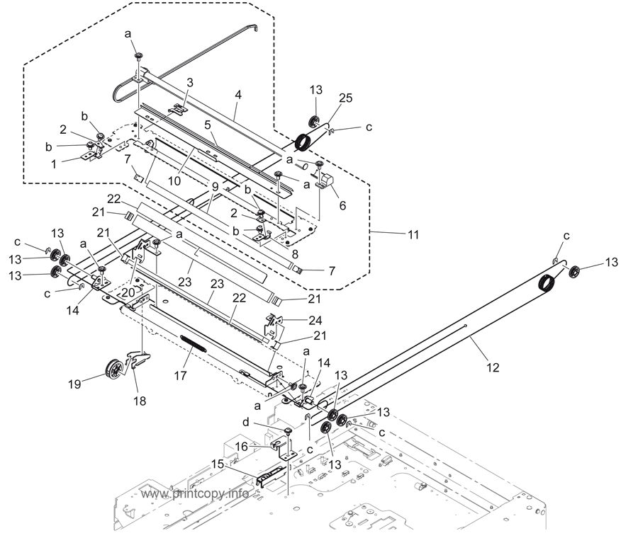 Parts Catalog > Konica-Minolta > bizhub 283 > page 6