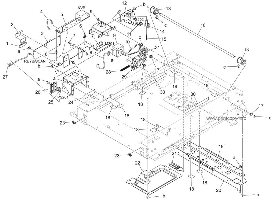 Parts Catalog > Konica-Minolta > bizhub 423 > page 7