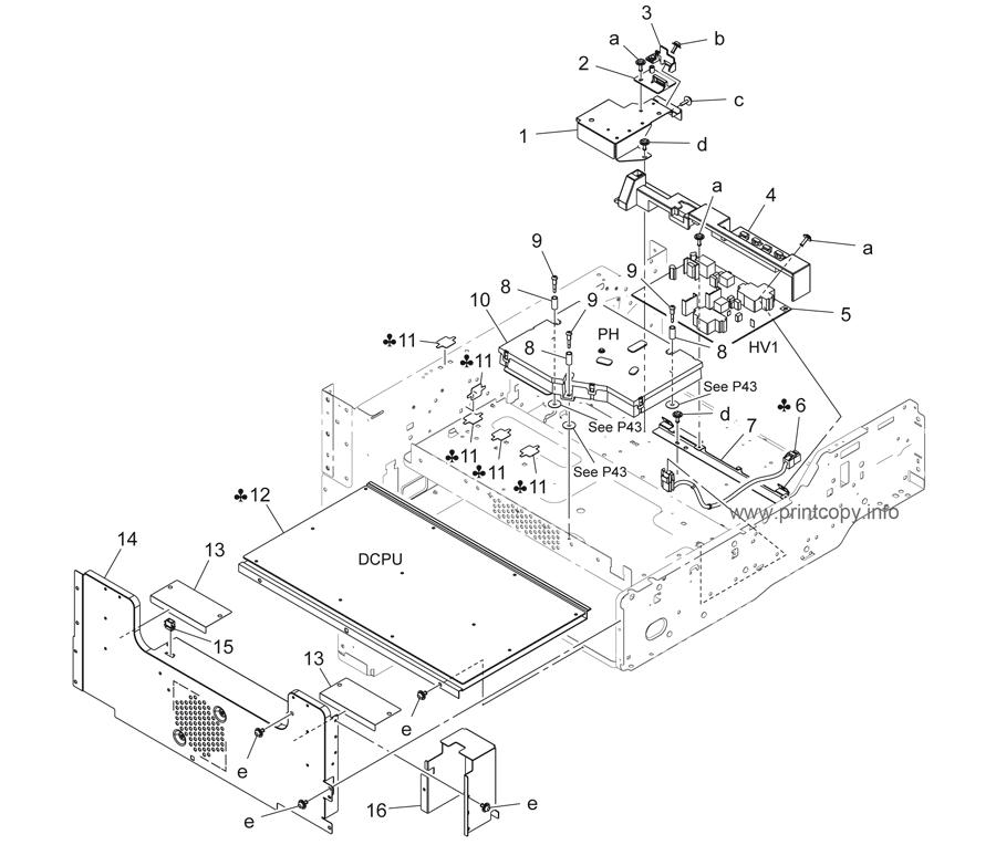 Parts Catalog > Konica-Minolta > bizhub 423 > page 8