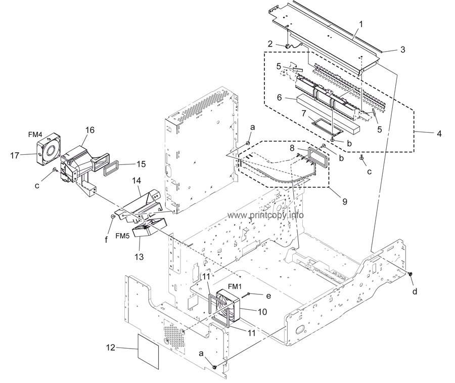Parts Catalog > Konica-Minolta > bizhub 223 > page 9