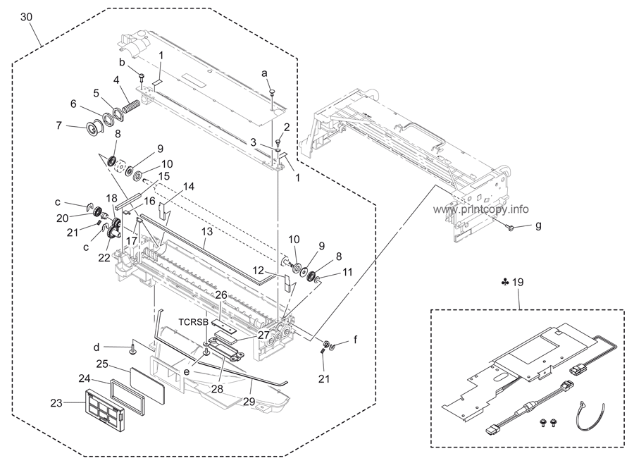 Parts Catalog > Konica-Minolta > bizhub 363 > page 10