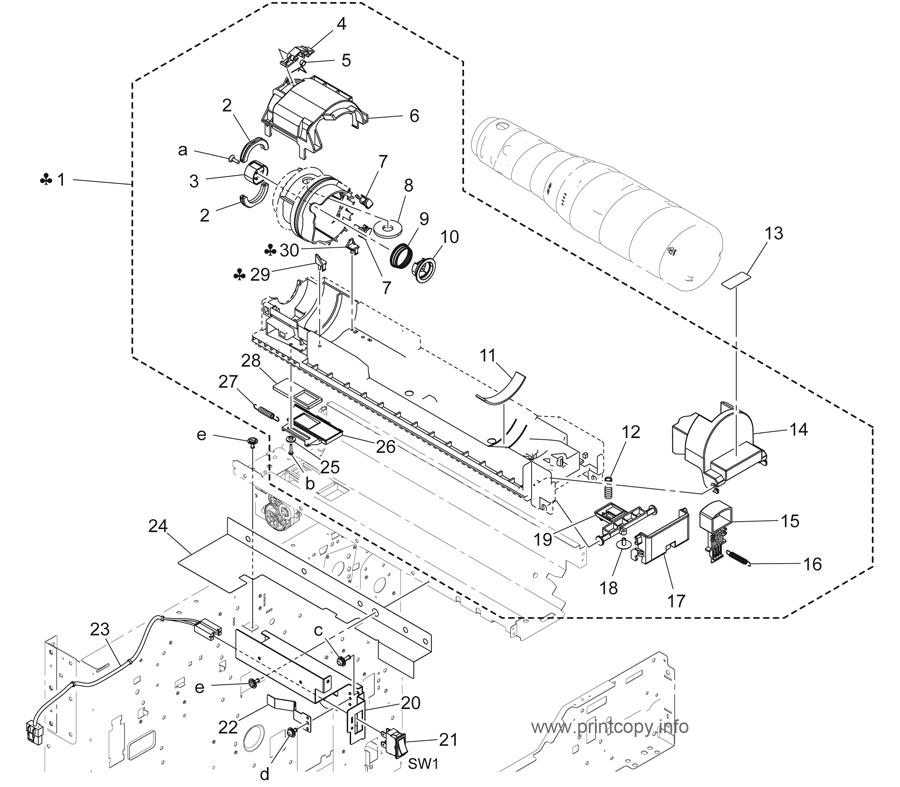 Parts Catalog > Konica-Minolta > bizhub 423 > page 11