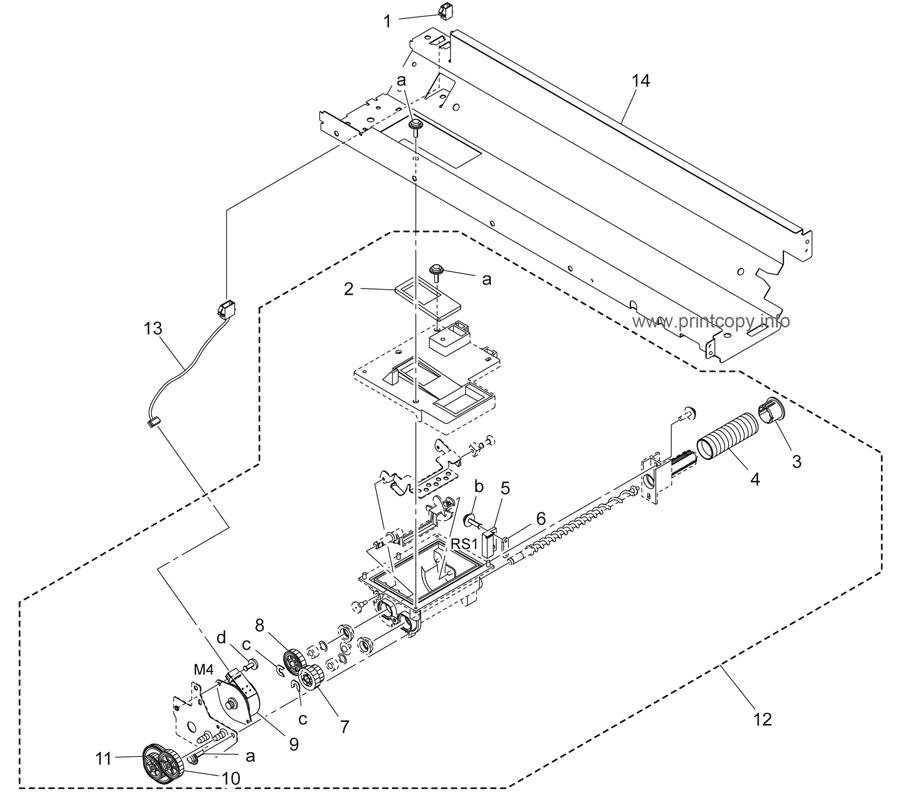 Parts Catalog > Konica-Minolta > bizhub 223 > page 12