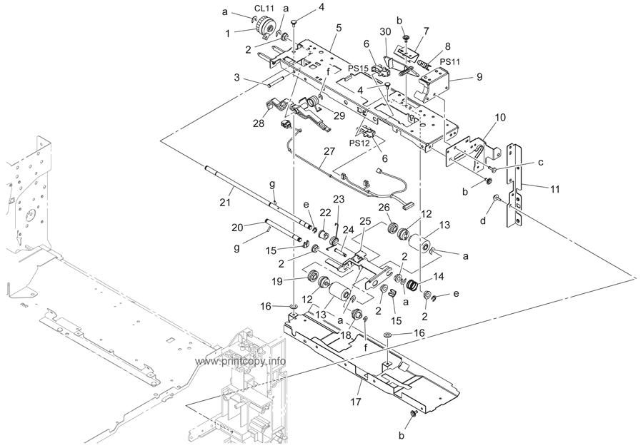 Parts Catalog > Konica-Minolta > bizhub 223 > page 13