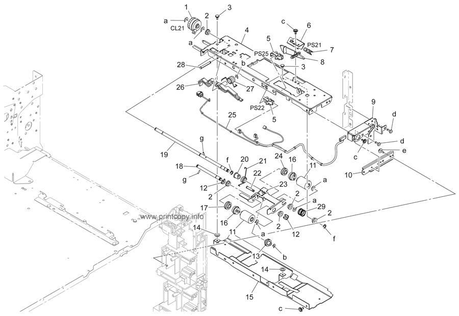 Parts Catalog > Konica-Minolta > bizhub 223 > page 16