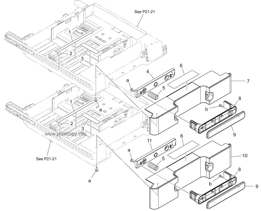 Parts Catalog > Konica-Minolta > bizhub 283 > page 20