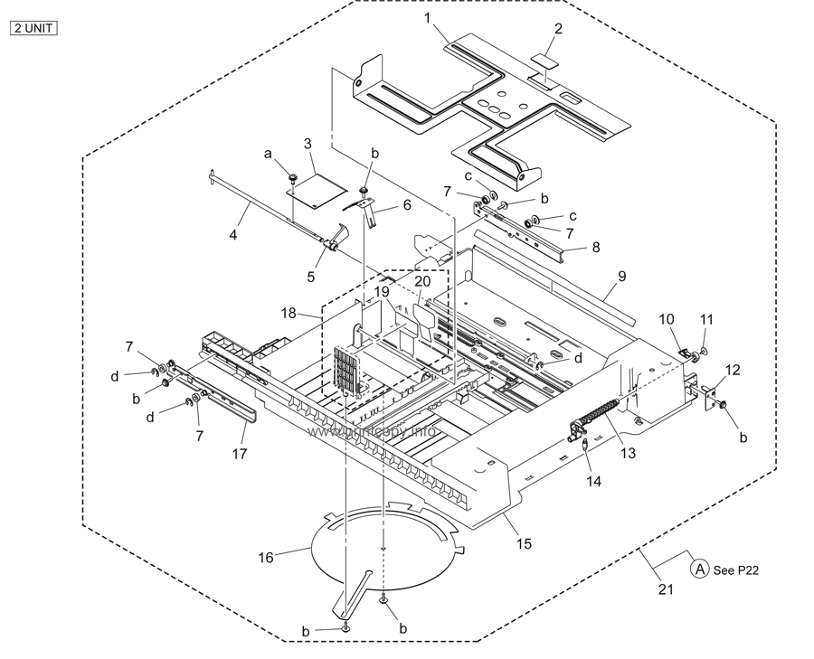 Parts Catalog > Konica-Minolta > bizhub 223 > page 21