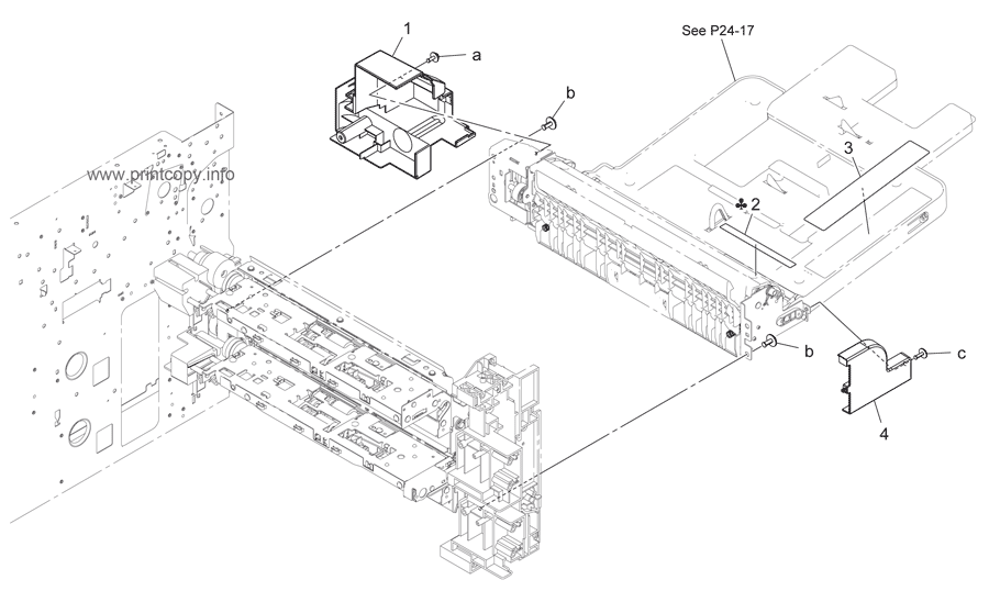 Parts Catalog > Konica-Minolta > bizhub 423 > page 23