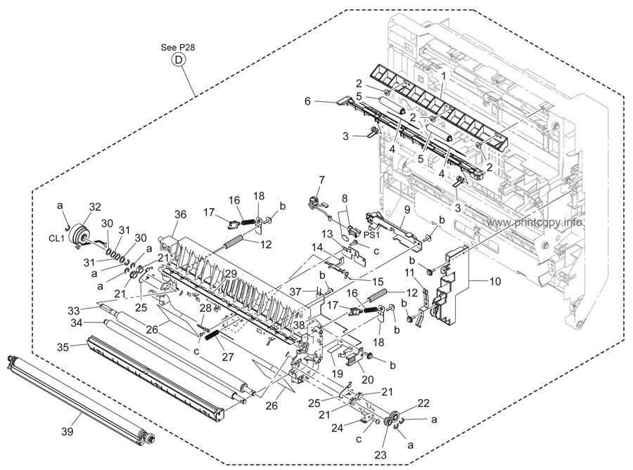 Parts Catalog > Konica-Minolta > bizhub 363 > page 29