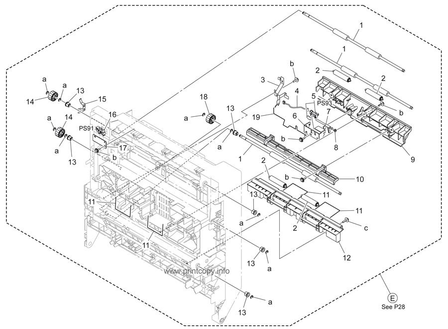 Parts Catalog > Konica-Minolta > bizhub 283 > page 30