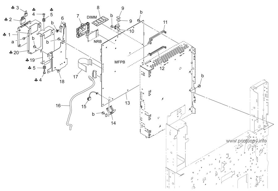 Parts Catalog > Konica-Minolta > bizhub 423 > page 38
