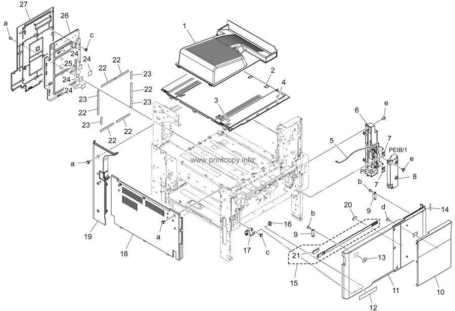 Parts Catalog > Konica-Minolta > bizhub 284e > page 1