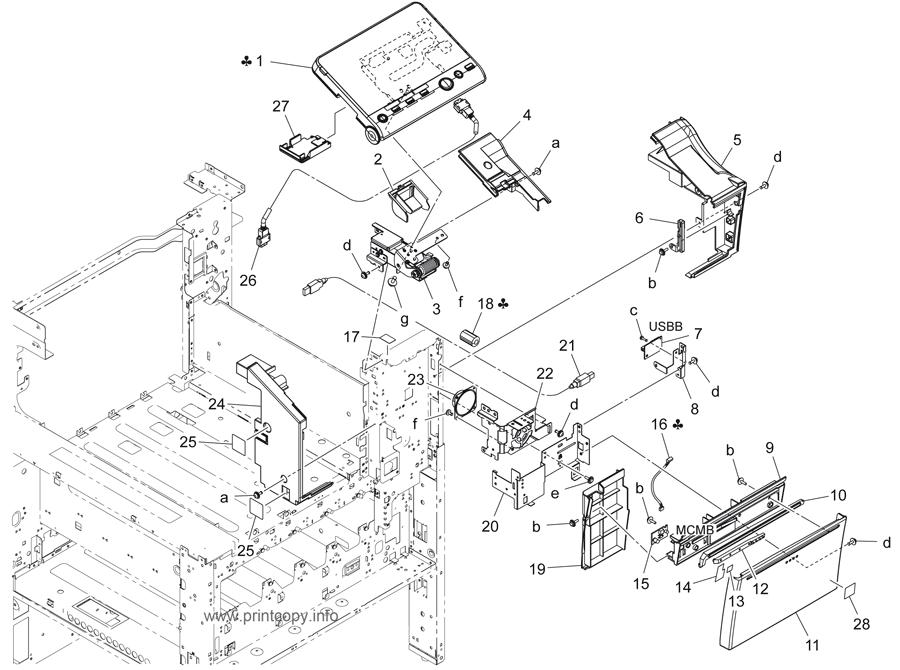 Parts Catalog > Konica-Minolta > bizhub 224e > page 4