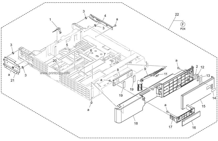 Parts Catalog > Konica-Minolta > bizhub 364e > page 23