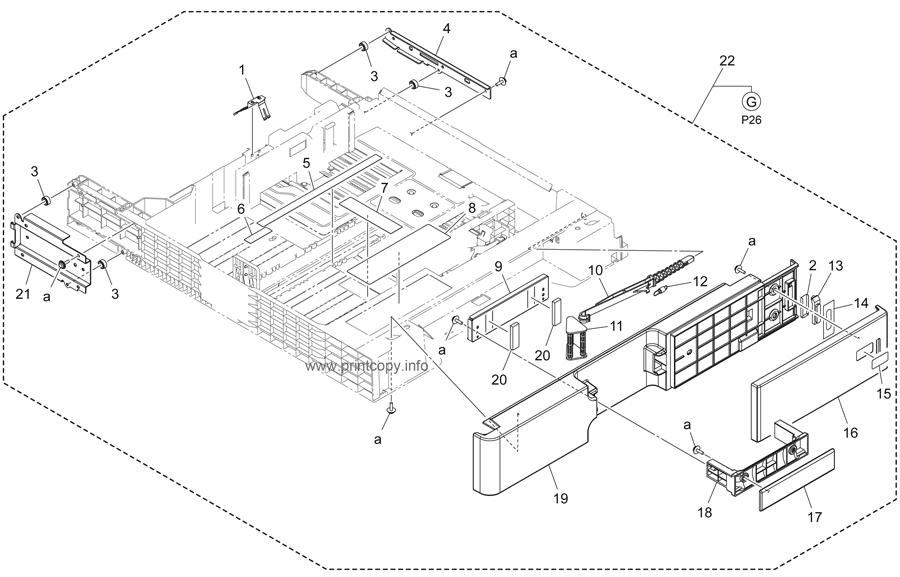 Parts Catalog > Konica-Minolta > bizhub 224e > page 25