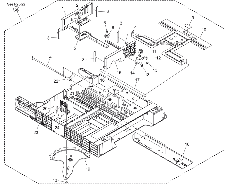 Parts Catalog > Konica-Minolta > bizhub 364e > page 26