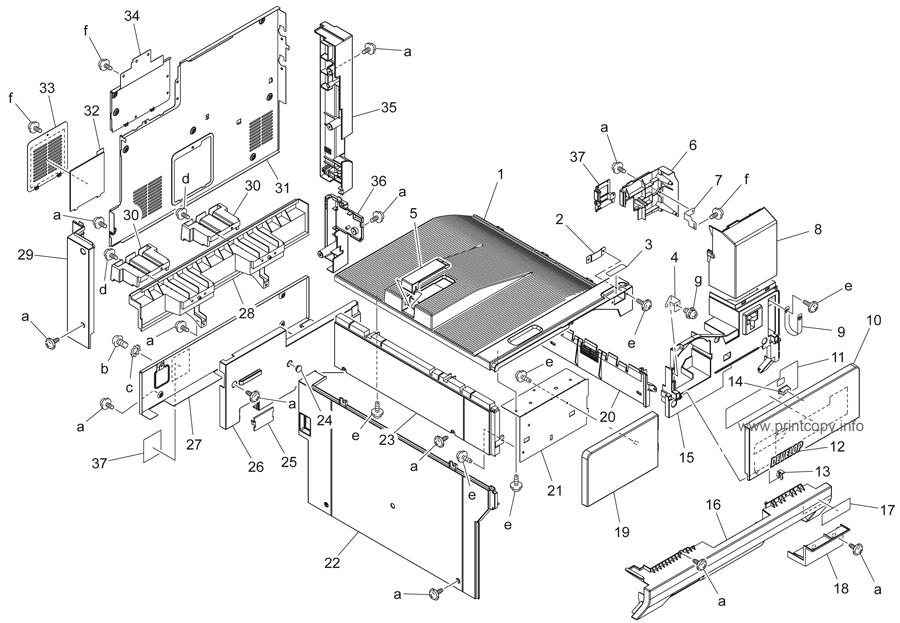 Parts Catalog > Konica-Minolta > bizhub 250 > page 2