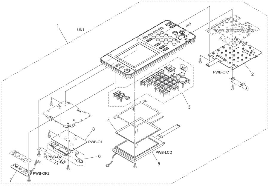 Parts Catalog > Konica-Minolta > bizhub 350 > page 3