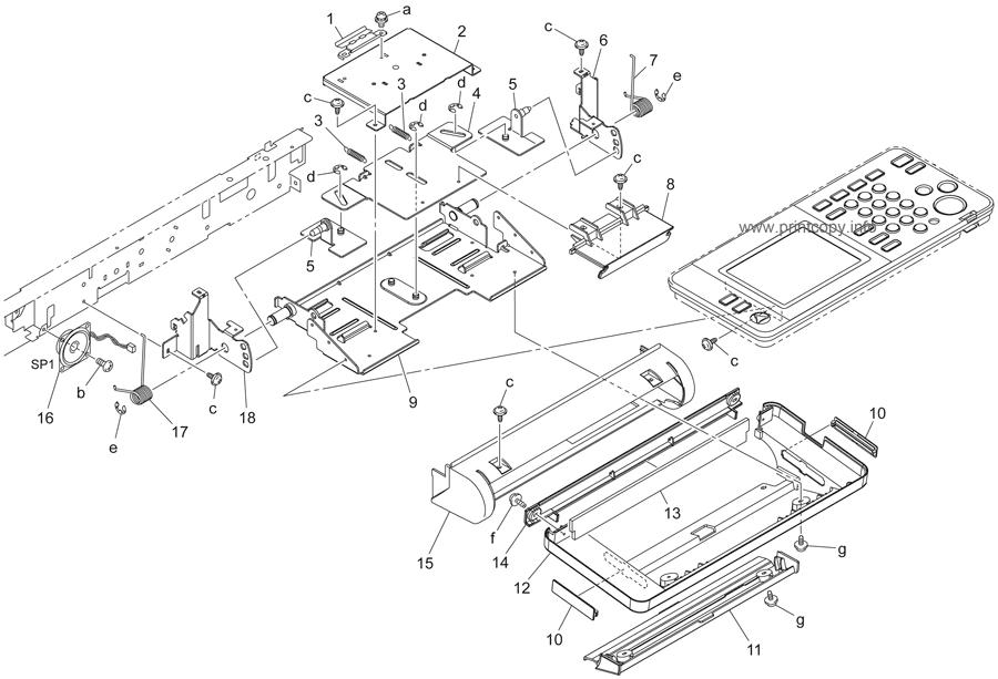 Parts Catalog > Konica-Minolta > bizhub 250 > page 4