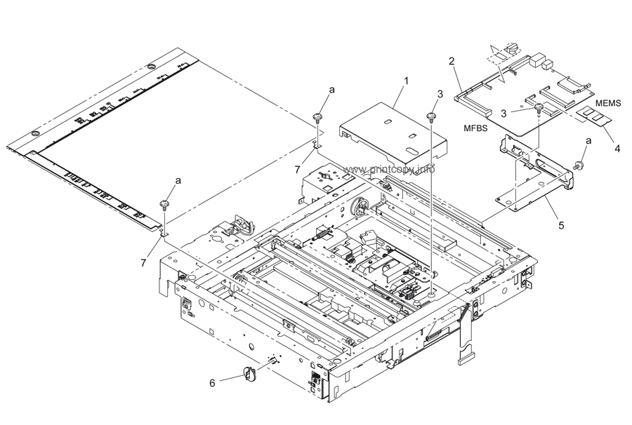 Parts Catalog > Konica-Minolta > bizhub 250 > page 5