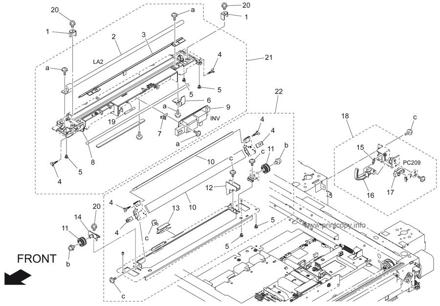 Parts Catalog > Konica-Minolta > bizhub 250 > page 8
