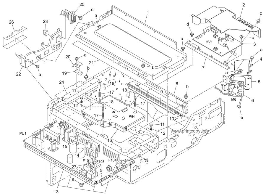 Parts Catalog > Konica-Minolta > bizhub 350 > page 9