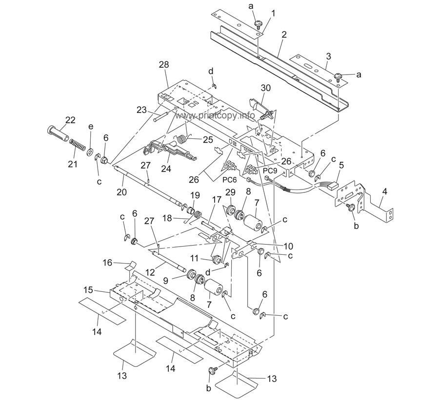 Parts Catalog > Konica-Minolta > bizhub 350 > page 12