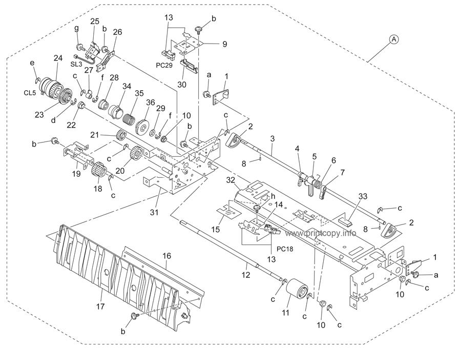 Parts Catalog > Konica-Minolta > bizhub 350 > page 17