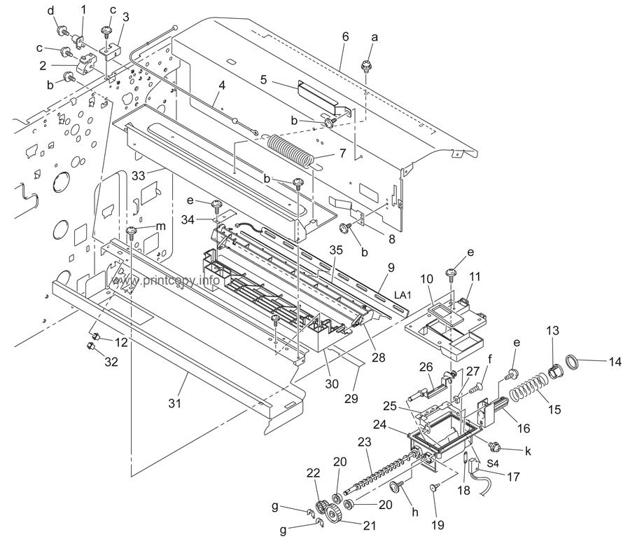Parts Catalog > Konica-Minolta > bizhub 350 > page 20