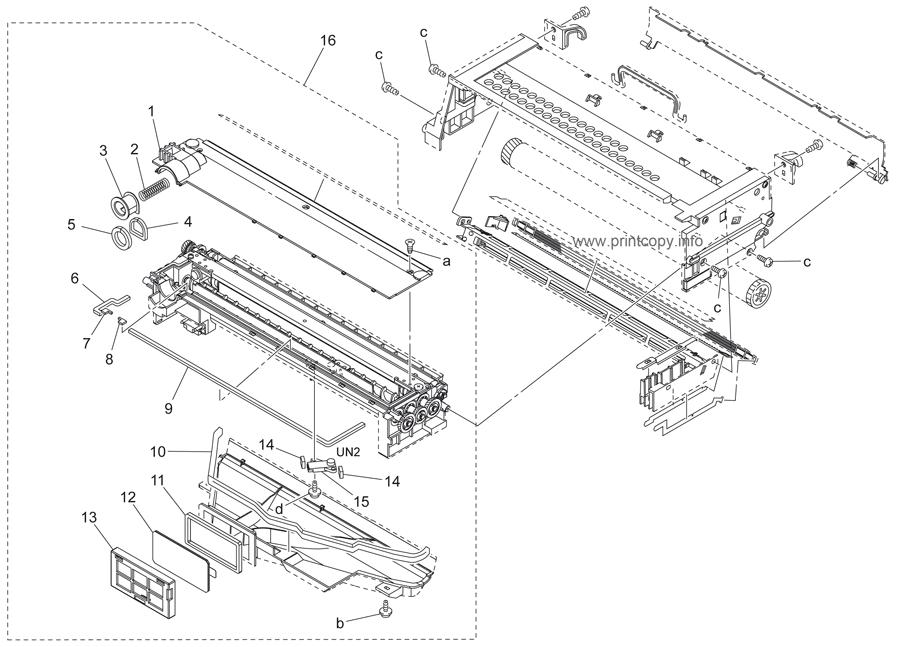 Parts Catalog > Konica-Minolta > bizhub 350 > page 21