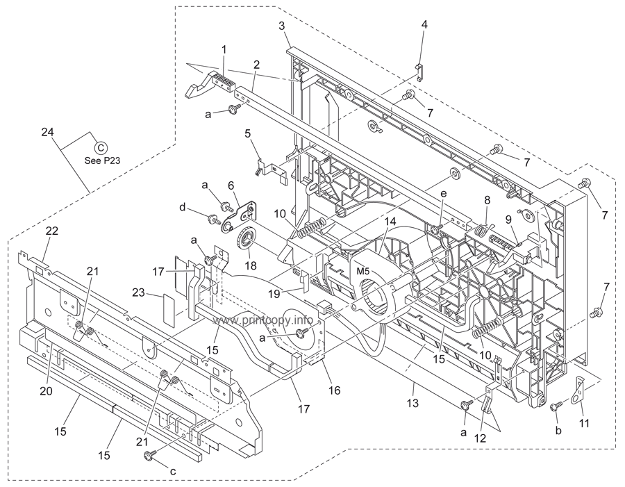 Parts Catalog > Konica-Minolta > bizhub 200 > page 22