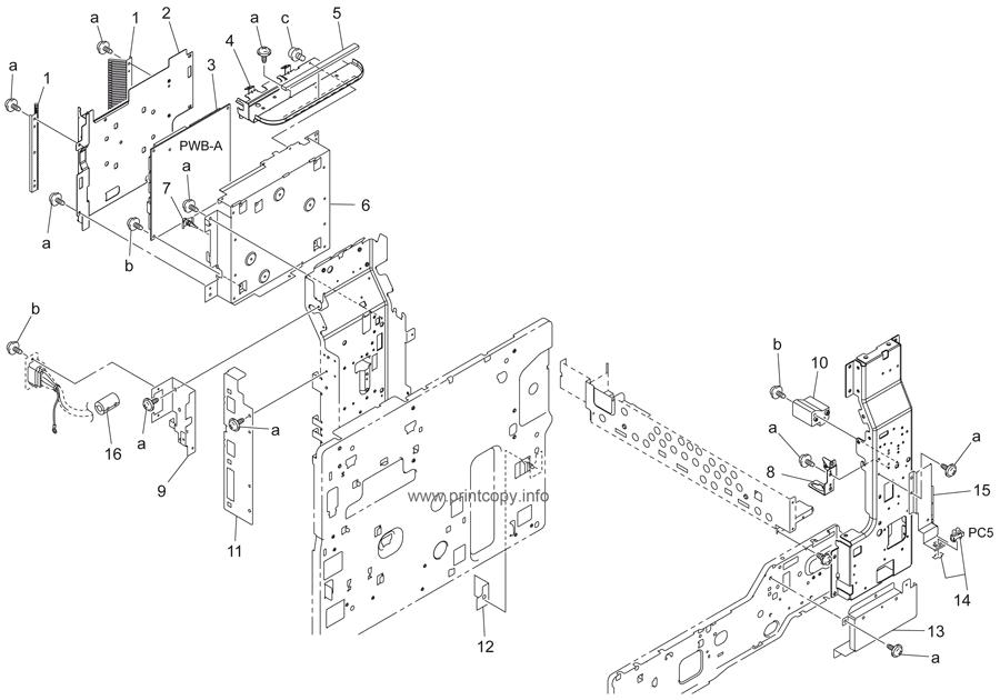 Parts Catalog > Konica-Minolta > bizhub 200 > page 30