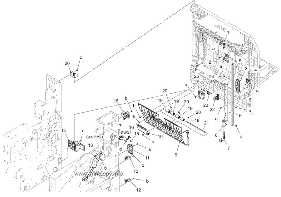 Parts Catalog > Konica-Minolta > bizhub 287 > page 26