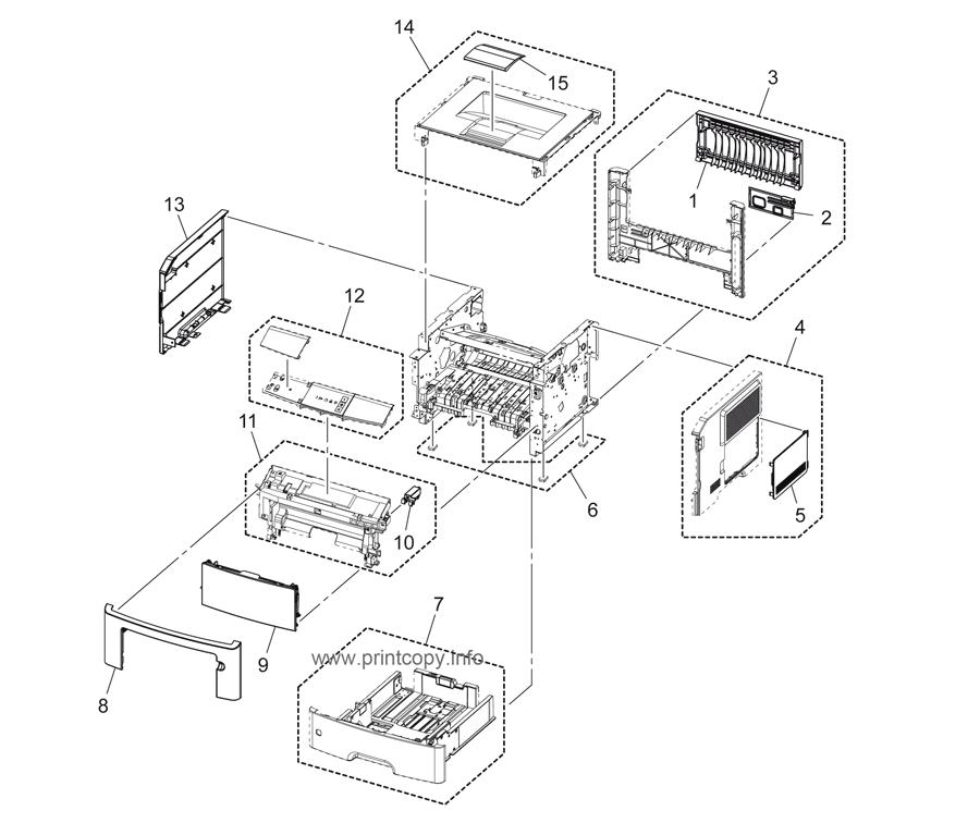 Parts Catalog > Konica-Minolta > bizhub 3300P > page 1