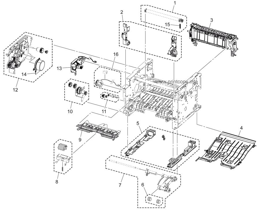 Parts Catalog > Konica-Minolta > bizhub 3320 > page 6