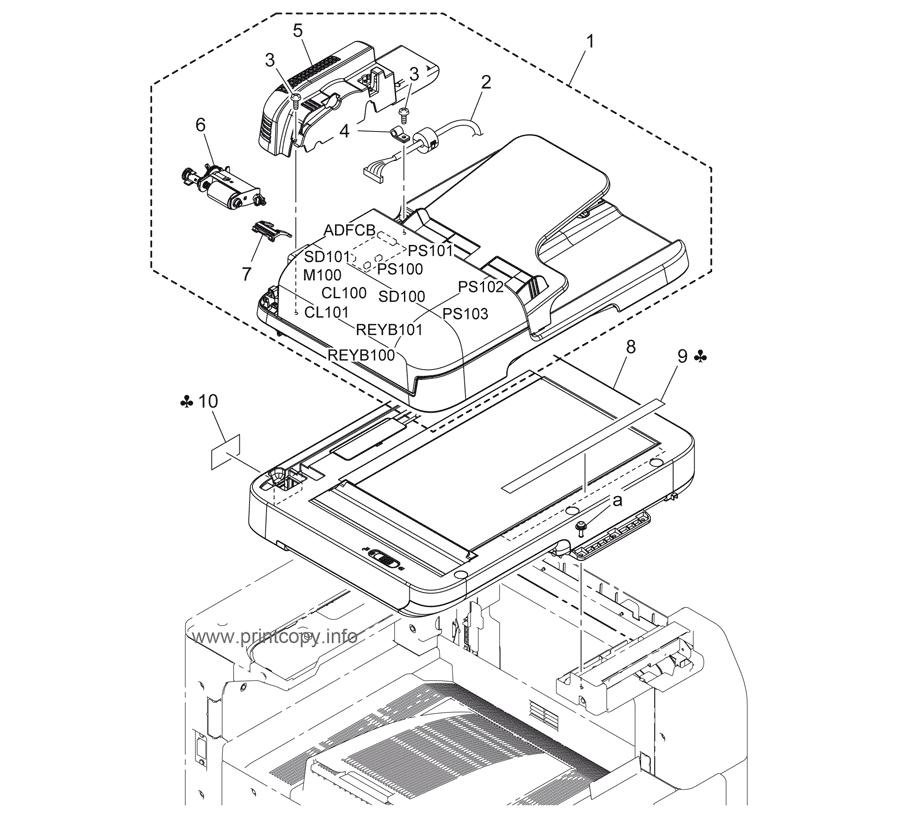 Parts Catalog > Konica-Minolta > bizhub 36 > page 1
