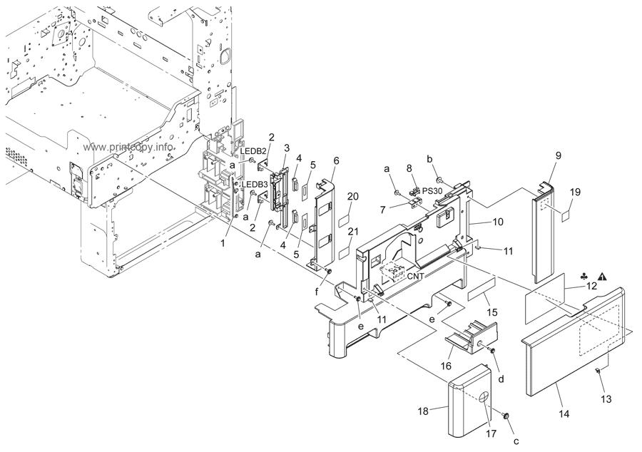 Parts Catalog > Konica-Minolta > bizhub 36 > page 2