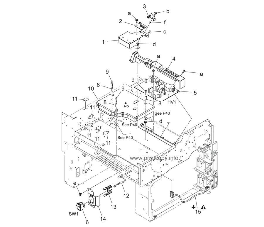 Parts Catalog > Konica-Minolta > bizhub 36 > page 6