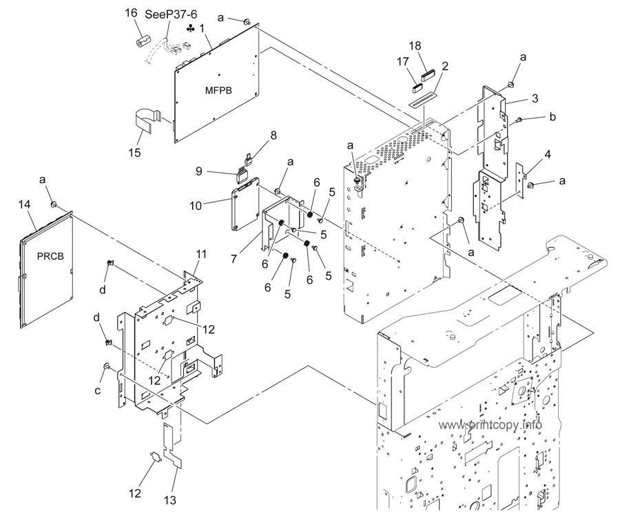 Parts Catalog > Konica-Minolta > bizhub 42 > page 36