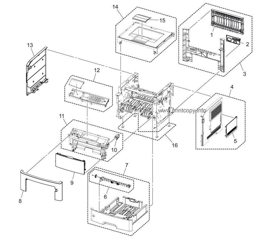 Parts Catalog > Konica-Minolta > bizhub 4000P > page 1
