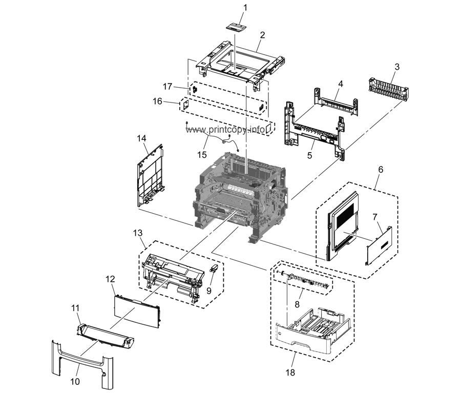 Parts Catalog > Konica-Minolta > bizhub 4050 > page 1