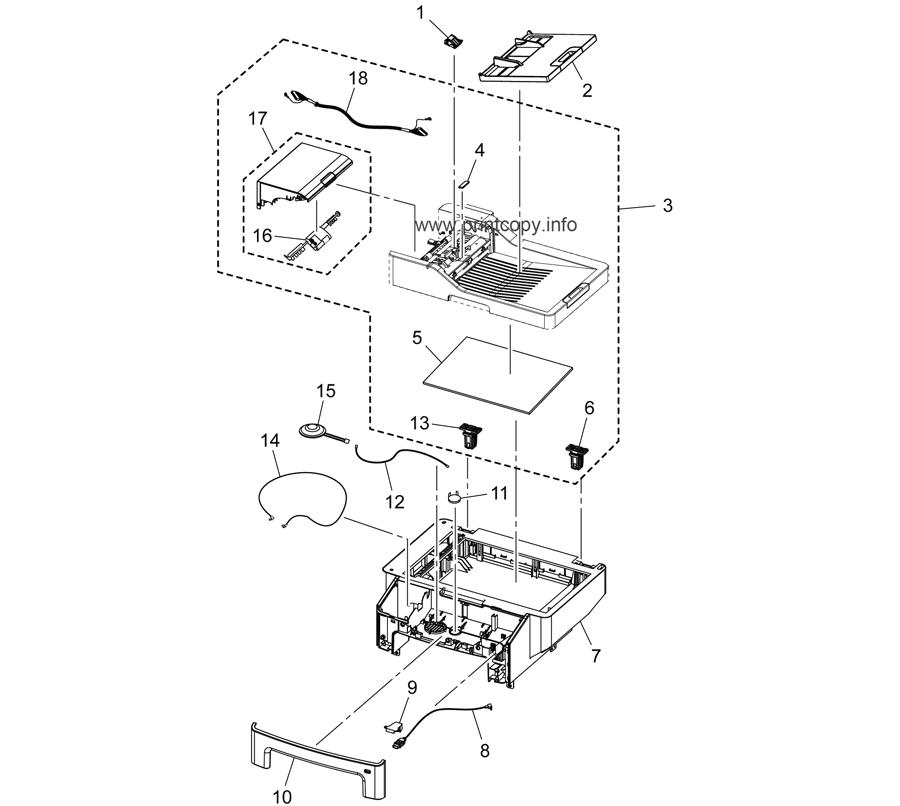 Parts Catalog > Konica-Minolta > bizhub 4050 > page 2