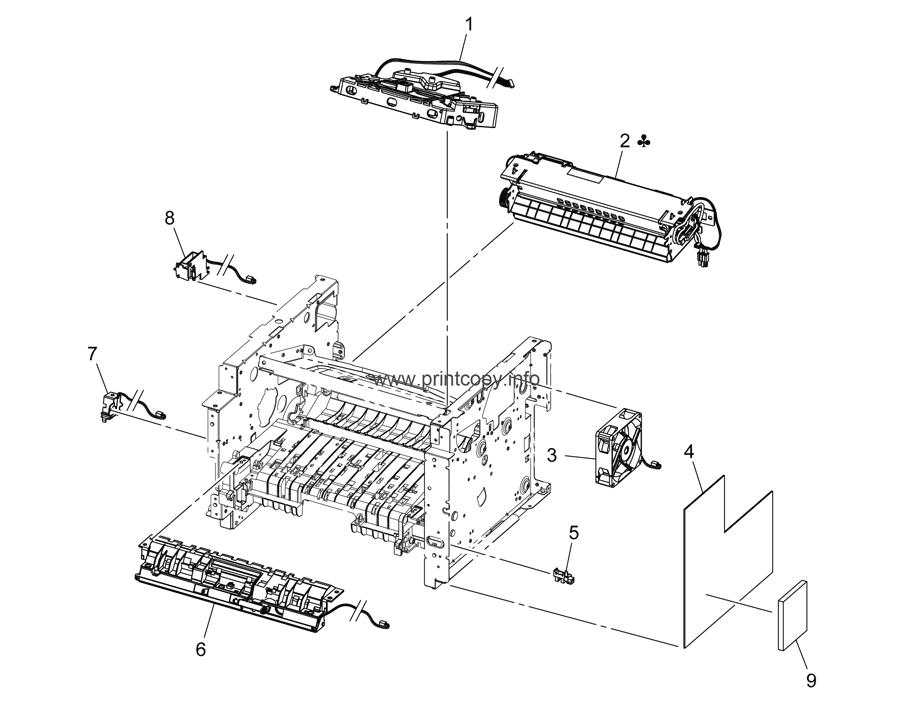 Parts Catalog > Konica-Minolta > bizhub 4050 > page 3