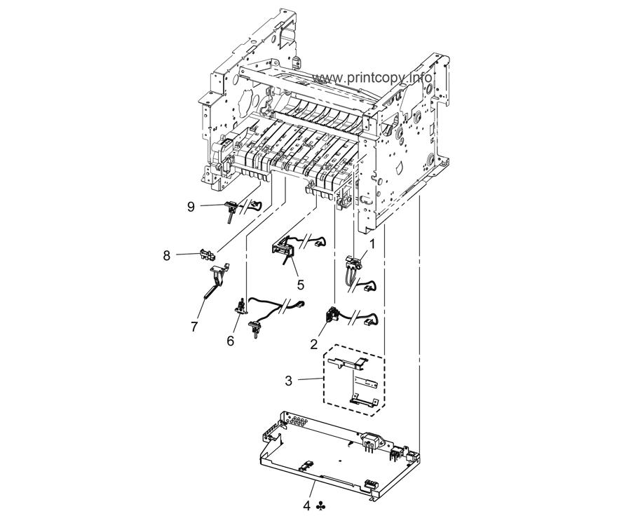 Parts Catalog > Konica-Minolta > bizhub 4050 > page 4