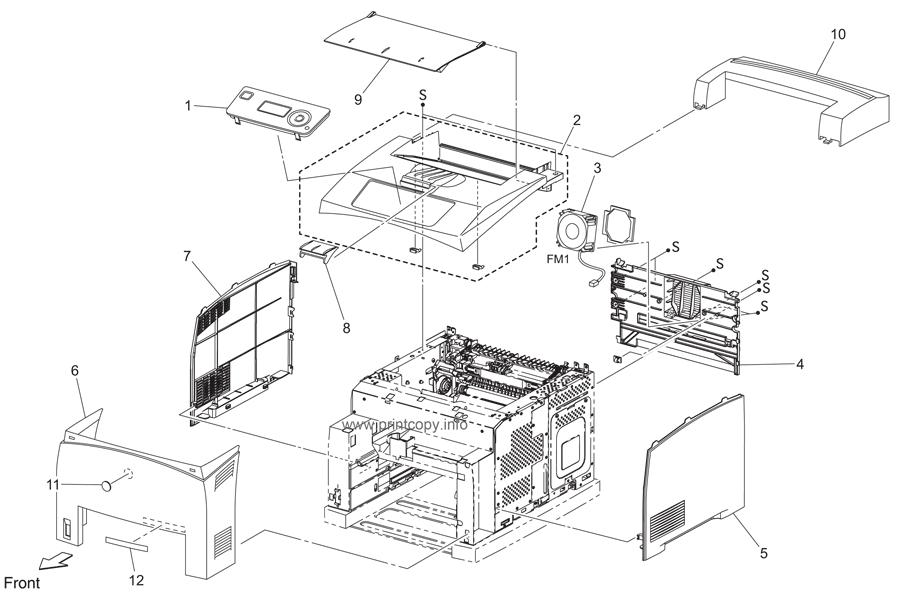 Parts Catalog > Konica-Minolta > bizhub 40P > page 1