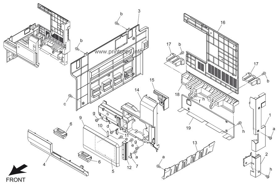 Parts Catalog > Konica-Minolta > bizhub 500 > page 6