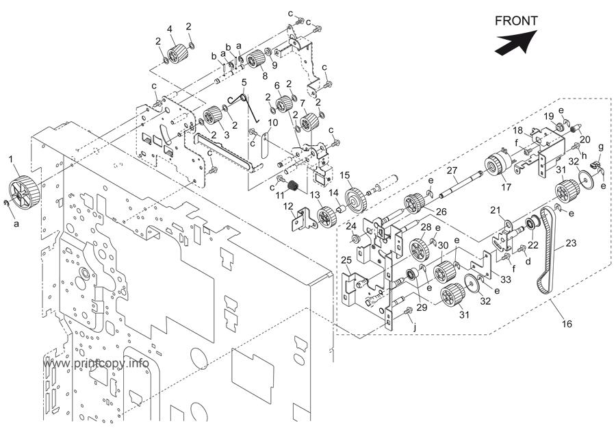 Parts Catalog > Konica-Minolta > bizhub 500 > page 14