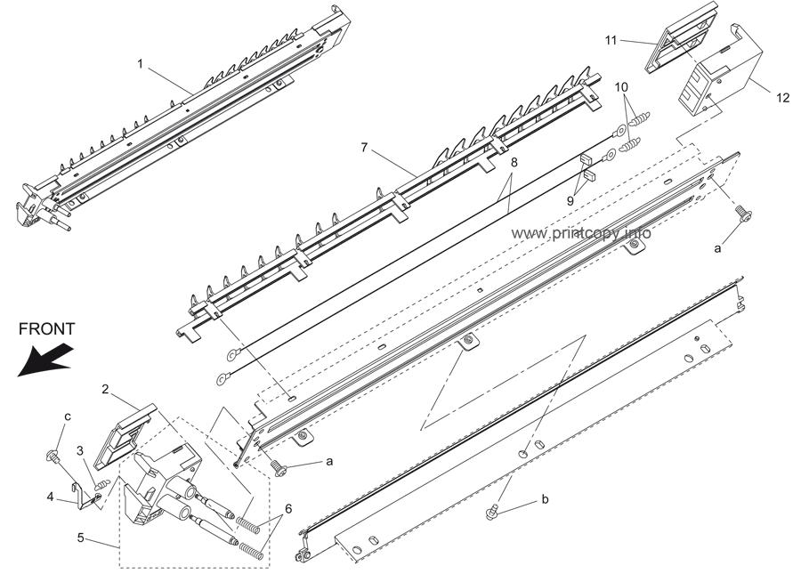 Parts Catalog > Konica-Minolta > bizhub 500 > page 20