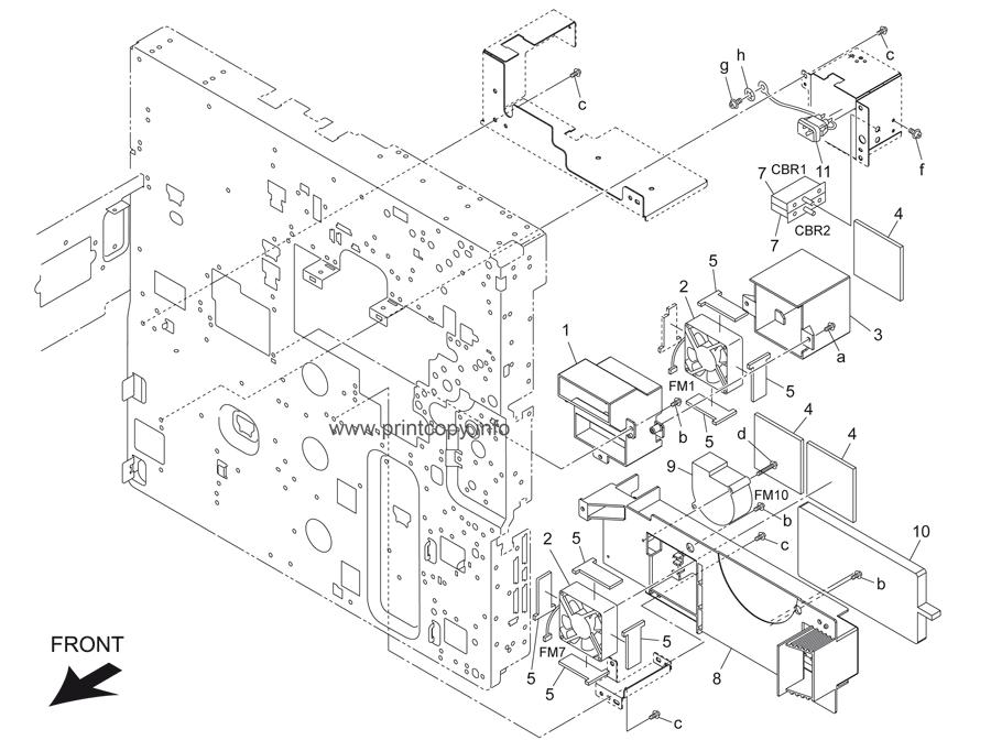 Parts Catalog > Konica-Minolta > bizhub 500 > page 55