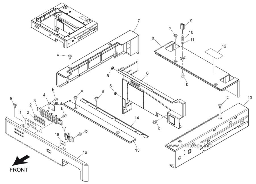 Parts Catalog > Konica-Minolta > bizhub 421 > page 5